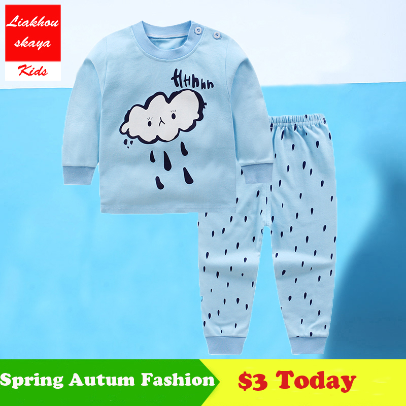 2018 Newborn font b Baby b font Boys Girls Clothes Summer Winter Sets 100 Cotton Clothing