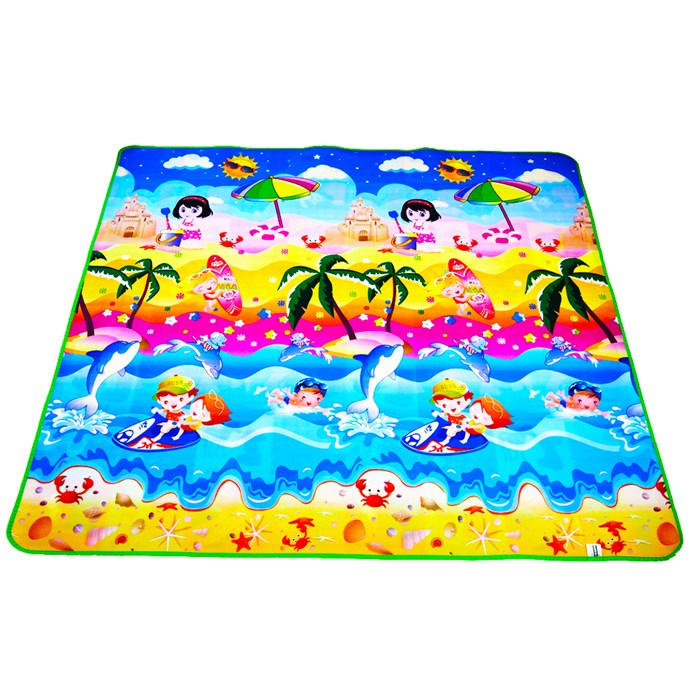 Baby Mat Double Side Baby Play Mat Eva Foam Developing Mat for Children Carpet Kids Toys Gym Game Rug Crawling Gym Playmat Gift цена 2017