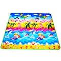 Bebé estera doble bebé alfombra de juego de espuma Eva en desarrollo Mat para los niños alfombra juguetes gimnasio juego alfombra arrastrándose gimnasio alfombra regalo