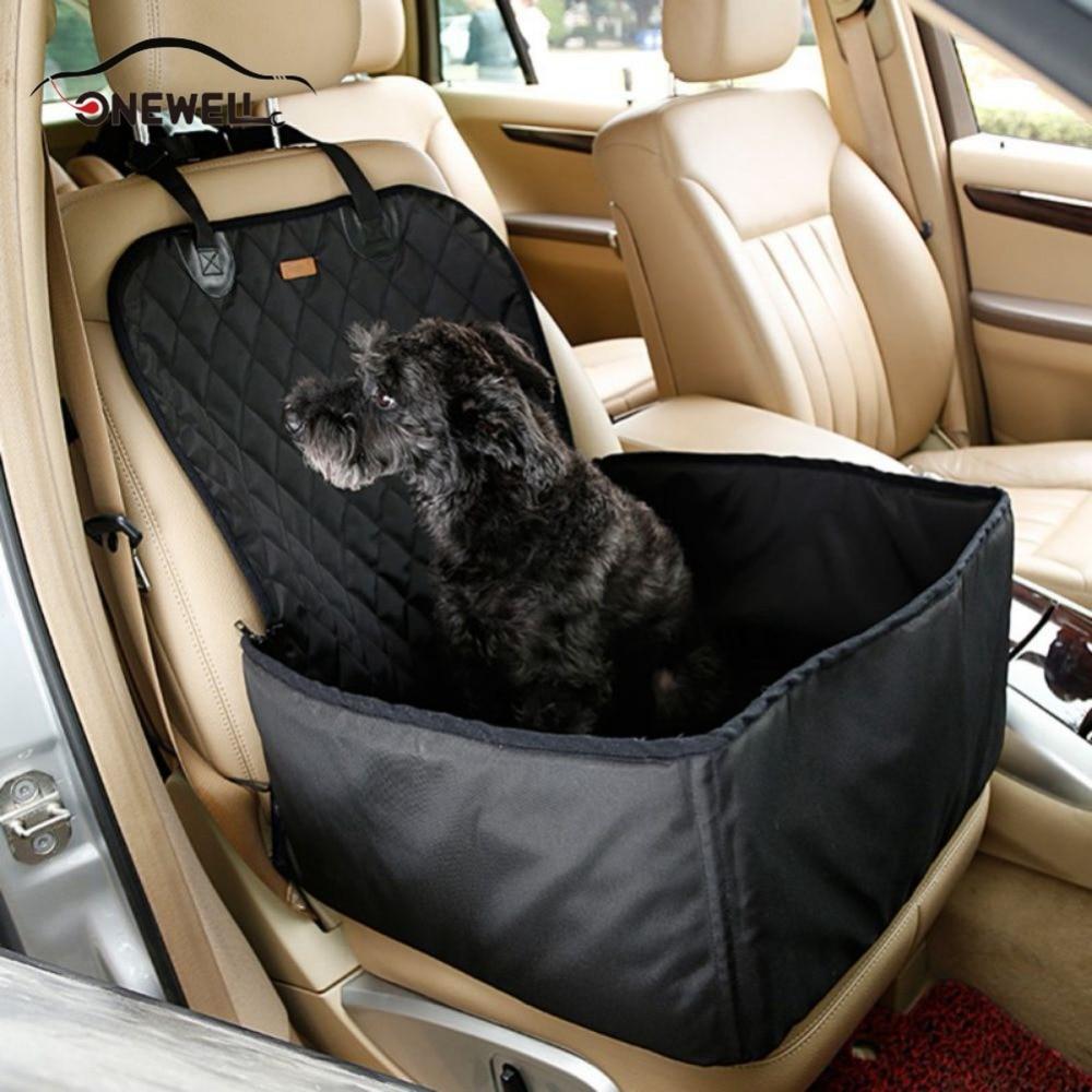 Onewell Водонепроницаемый собака автовоз сумка для хранения сиденье Обложка 2 в 1 носителя ведро Корзина более роскошный