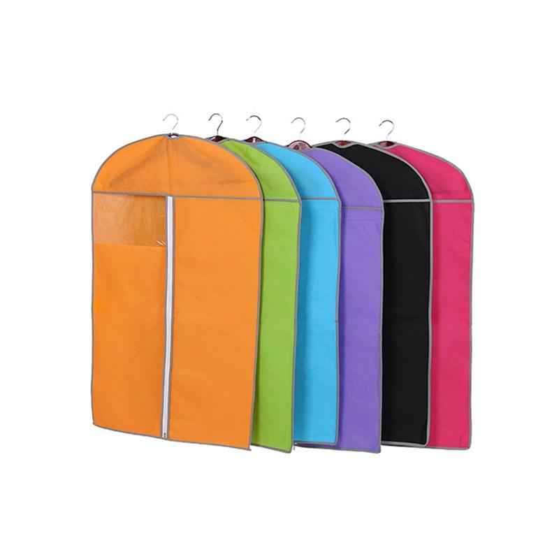 Toz geçirmez çanta Kalınlaşmak dokunmamış Elbise toz kapağı - Evdeki Organizasyon ve Depolama - Fotoğraf 5