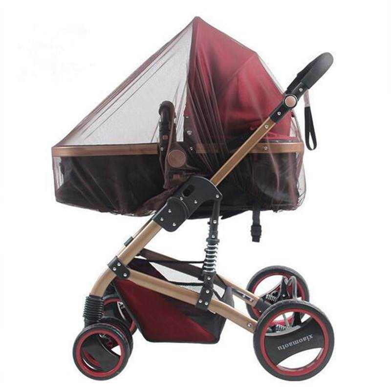 Verano bebé Red Anti-mosquitos para carrito Buggy cochecito volar protector de insectos cubierta cuna de malla de cuna de la red