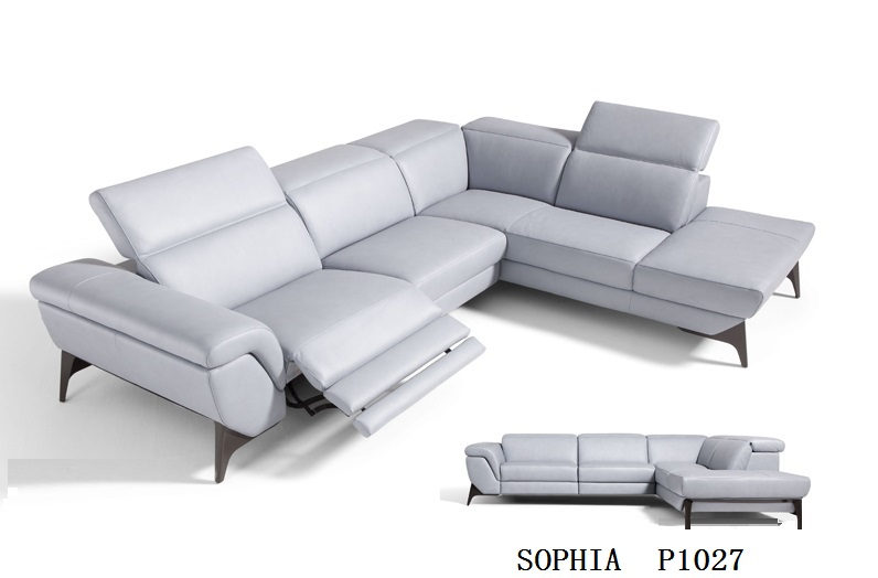 Living Room Leather Corner Sofa Recliner With Genuine Electric In Sofas From Furniture On Aliexpress Alibaba Group