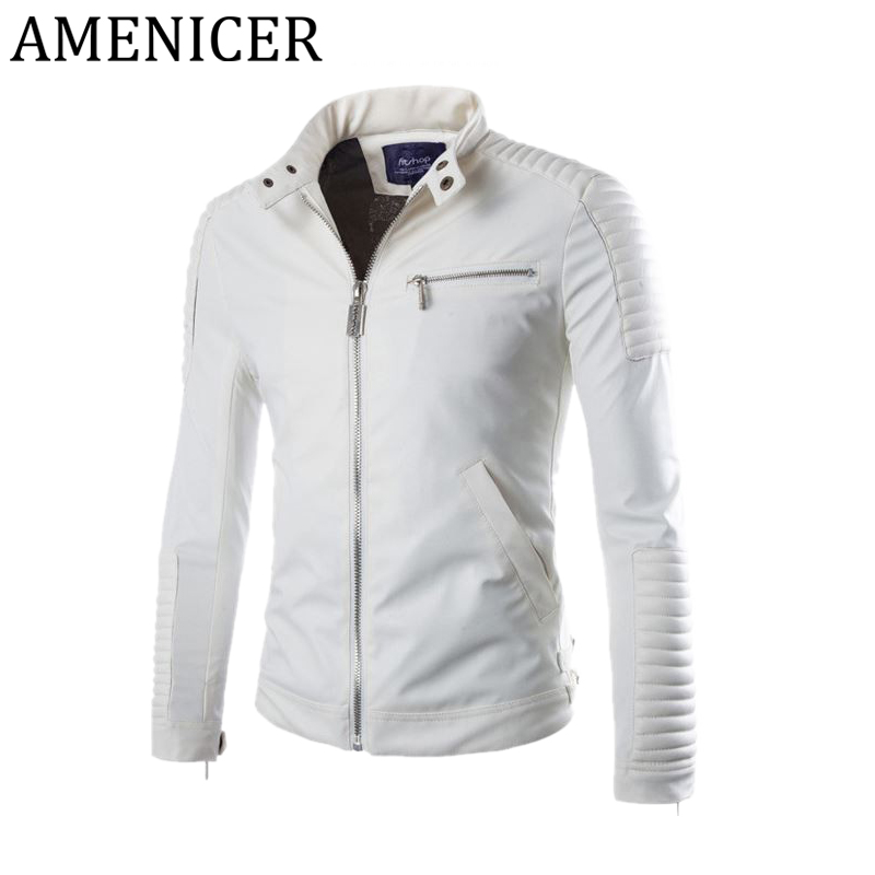 Leather Bomber Jackets Men Promotion-Shop for Promotional Leather