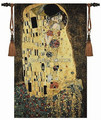 139cm X 89cm wedding gift Klimt kiss love wall hanging tapestry for home decor PT-47