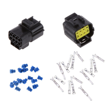 цена на 8 Way Auto Car Wire Cable Connector Plug Waterproof Electrical Sets