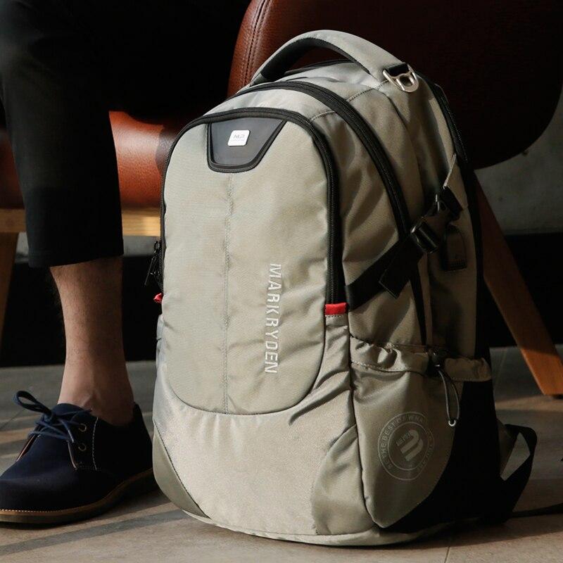 Multifunction USB Charging Men 15inch Laptop Backpacks Men's Bag 5