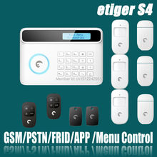 eTIGER S4 Set 2015 Newest Wireless GSM Alarm System 433Mhz Home Security Protection