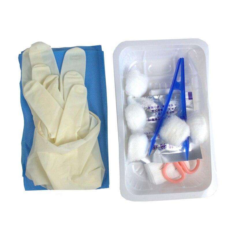1Set/Bag 2Bag EO Sterilization Disposable Dressing Change Suture Kit