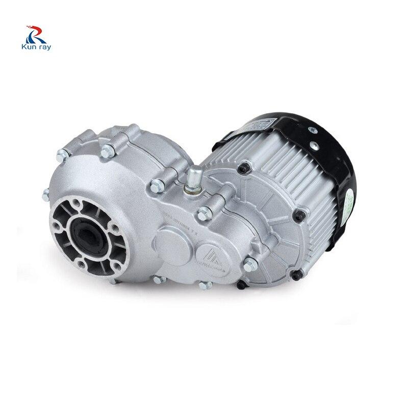BM1418HQF 500 Вт 750 Вт 48 в 60 В постоянного тока бесщеточный мотор электрический трицикл аксессуары светильник тяга трехколесный велосипед BLDC