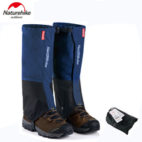 Naturehike Outdoor Waterproof Snow Gaiters Hiking Climbing Windproof Snow Legging Gaiters NH17A001 DW NH17A001 DM