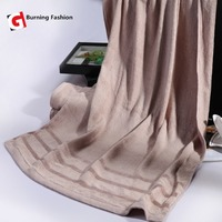 Burning fashion 2pcs bamboo fiber high water absorption 70x140cm + 35x75cm towel set
