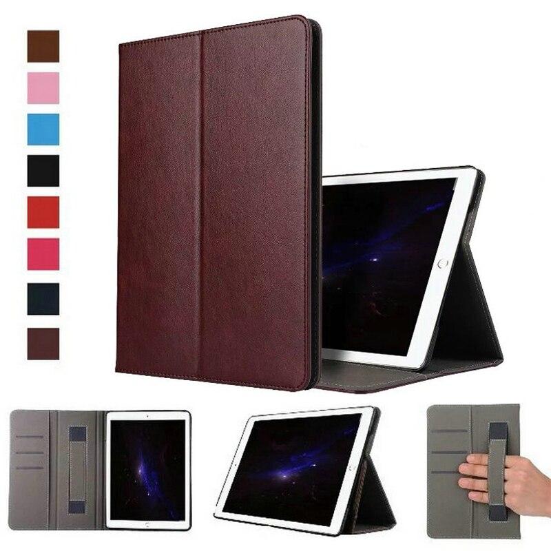 Чехол для принципиально iPad Pro 12.9 люкс Бизнес кожаный чехол Планшеты 12.9 дюймов проснуться руки ремень Стенд откидная сумки арабасте ...