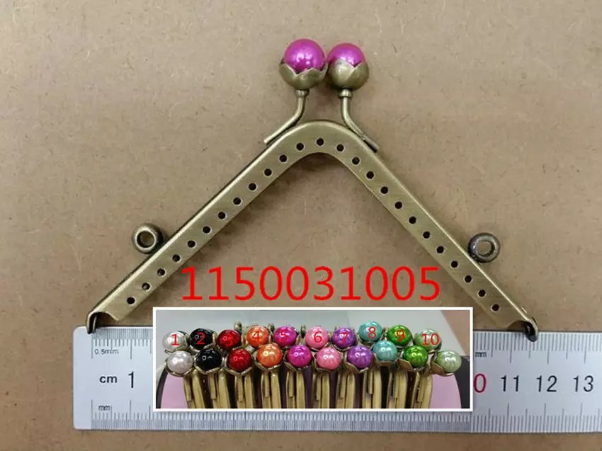 Free Shipping-10pcs Random Mixed Metal Frame Kiss Clasp Lock Handle DIY Handmade For Purse Bag Parts Antique Bronze11.5x5.5cm