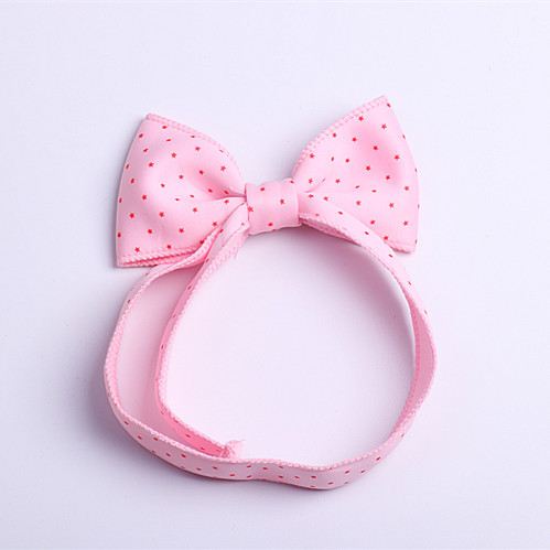 Boutique 20pcs Fashion Cute Rabbit Ears Soft Hairbands Solid Candy Color Big Bow Adjustable Elastic Headbands