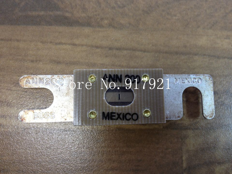 [ZOB] The United States Bussmann ANN200 BUSS fuse MEXICO genuine original  --3pcs/lot [zob] the united states litteifuse netlon nln45 fuse 250v genuine original 3pcs lot