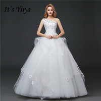 Real Photo One Shoulder Sequins Wedding Dresses 2017 Custom Made Classic Bow White Bride Gowns Vestidos
