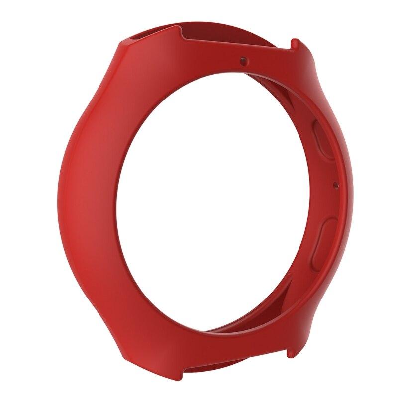Мягкий силиконовый защитный чехол для SamsungGalaxy gear S2 SM-R720 и SM-R730 - Цвет: R