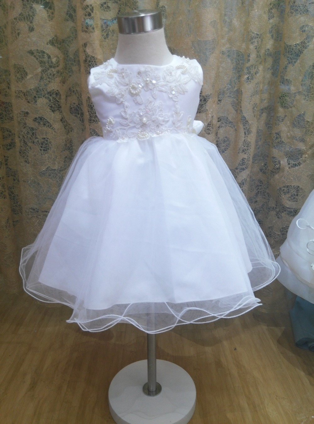 Baby girls three piece sets of Church dresses baby dresses fashionable  birthday baby dress boutique girls three piece suit
