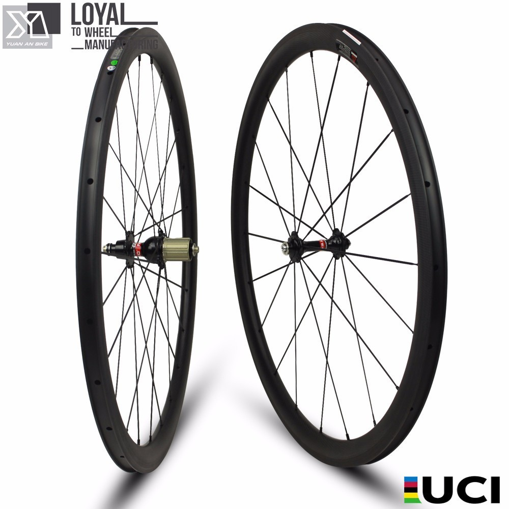 Hot Sale Cycle Cross Carbon Wheels 25mm Width 38mm Depth Tubeless With Novatec D711 Disc Brake Hub And Pillar 1432 Spoke 700c which spoke carbon wheels t700 v sprint carbon wheels 50mm carbon wheel with 20 5mm width d and t350hub