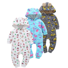 Baby Pure Cotton Jumpsuit During Spring And Autumn New Clothes Boys Girls  Rompers Born