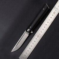 4 color must kill flip folding knife ball bearing blade G10 handle outdoor camping multi purpose hunting EDC tool