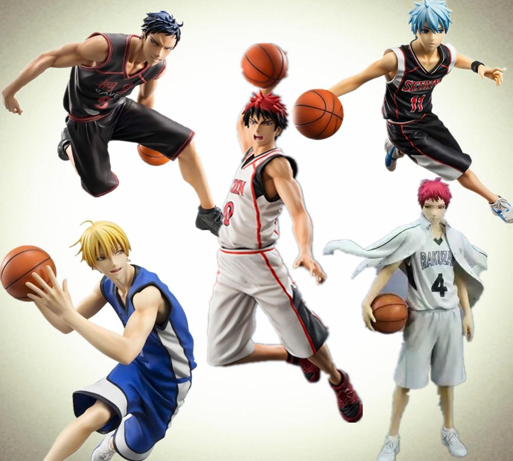 Kuroko No Basket Action Figure Taiga Daiki Tetsuya Ryota PVC Collection Toy Anime Kuroko No Basketball