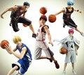 Экшн-фигурка Kuroko без корзины, Taiga Daiki Tetsuya Ryota из ПВХ, коллекционная игрушка Аниме Kuroko без баскетбола