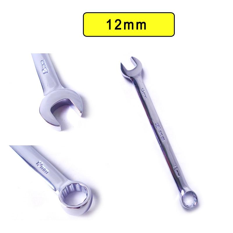 BOSI Cr-V acél 12 mm-es metrikus kombinált doboz / nyitott végű csavarkulcs