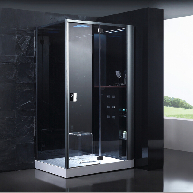 US $3176.0 |2017 neue design luxus dampf duschkabinen badezimmer dampf  duschkabinen whirlpool massage zu fuß in sauna zimmer ASTS1087 in 2017 neue  ...