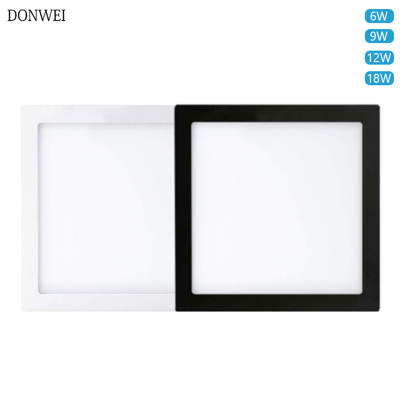 8Pcs 12W Square Recessed LED Panel Lights Ceiling Down Lamp Warm White Bedroom