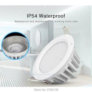 Image 2 - 6ワットrgb + cct防水ledダウンライトFUT063 IP54 220 12v凹型ledラウンド天井パネルスポットライト屋内リビングルームのバスルーム
