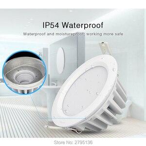Image 2 - 6W RGB + CCT Wasserdicht led downlights FUT063 IP54 220v einbau led Runde deckenplatte spot licht innen wohnzimmer bad
