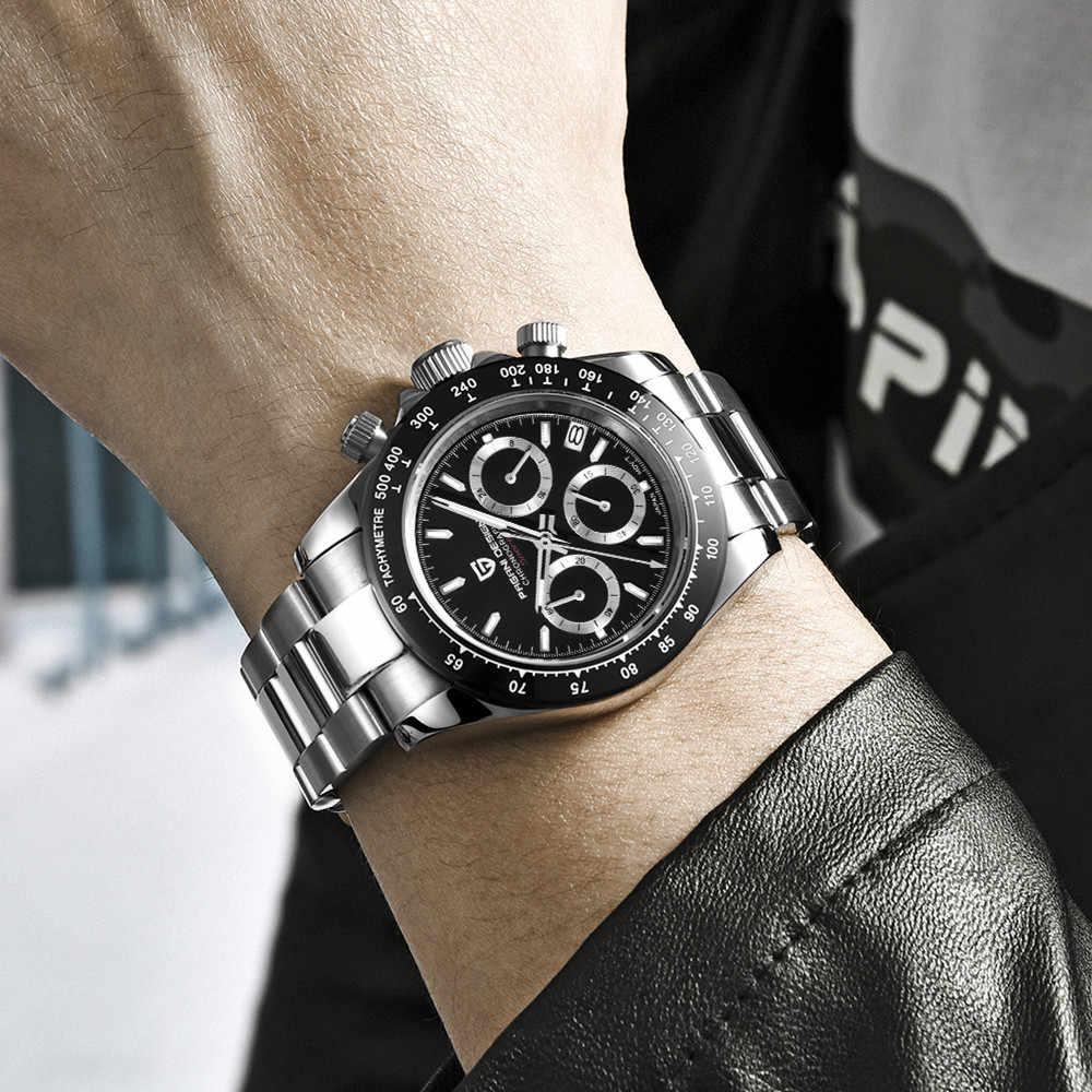 2020 nouveau PAGANI DESIGN marque chronographe sport montres hommes de luxe marque Quartz étanche Rolexable montre Relogio Masculino