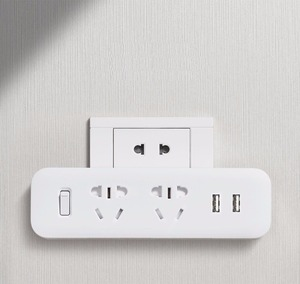 Image 3 - new original Xiaomi Mijia Power Strip Socket Converter Portable Plug Travel Adapter for Home Office 5V 2.1A 2 USB Fast Charging
