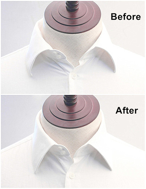 Shanh Zun 50x White Formal Shirt Collar Stays Stiffeners 5 Sizes