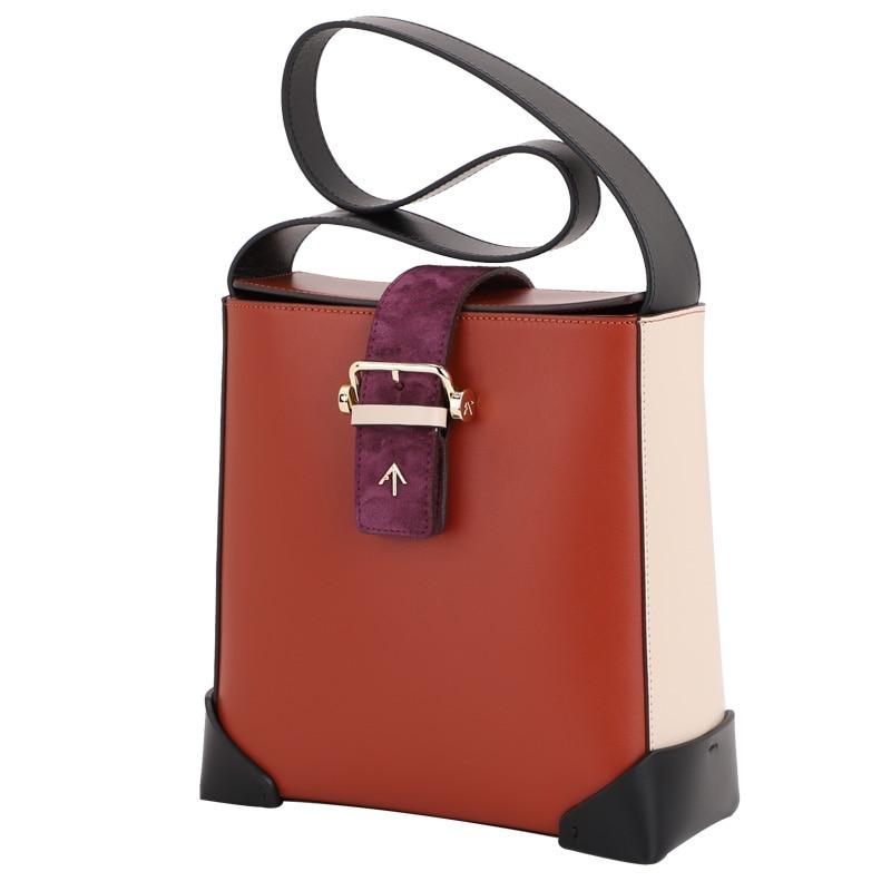 TRAPEZE COMBO Turkish arrow bag leather lady bag Single Shoulder Bag Women's Tote Bag