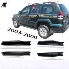 Крыши чехол для барбекю бар на крыше конец оболочки для: Toyota Land Cruiser PRADO Fj120 2003 2004 2005 2006 2007 2008 2009 Черный Цвет 4 шт./лот