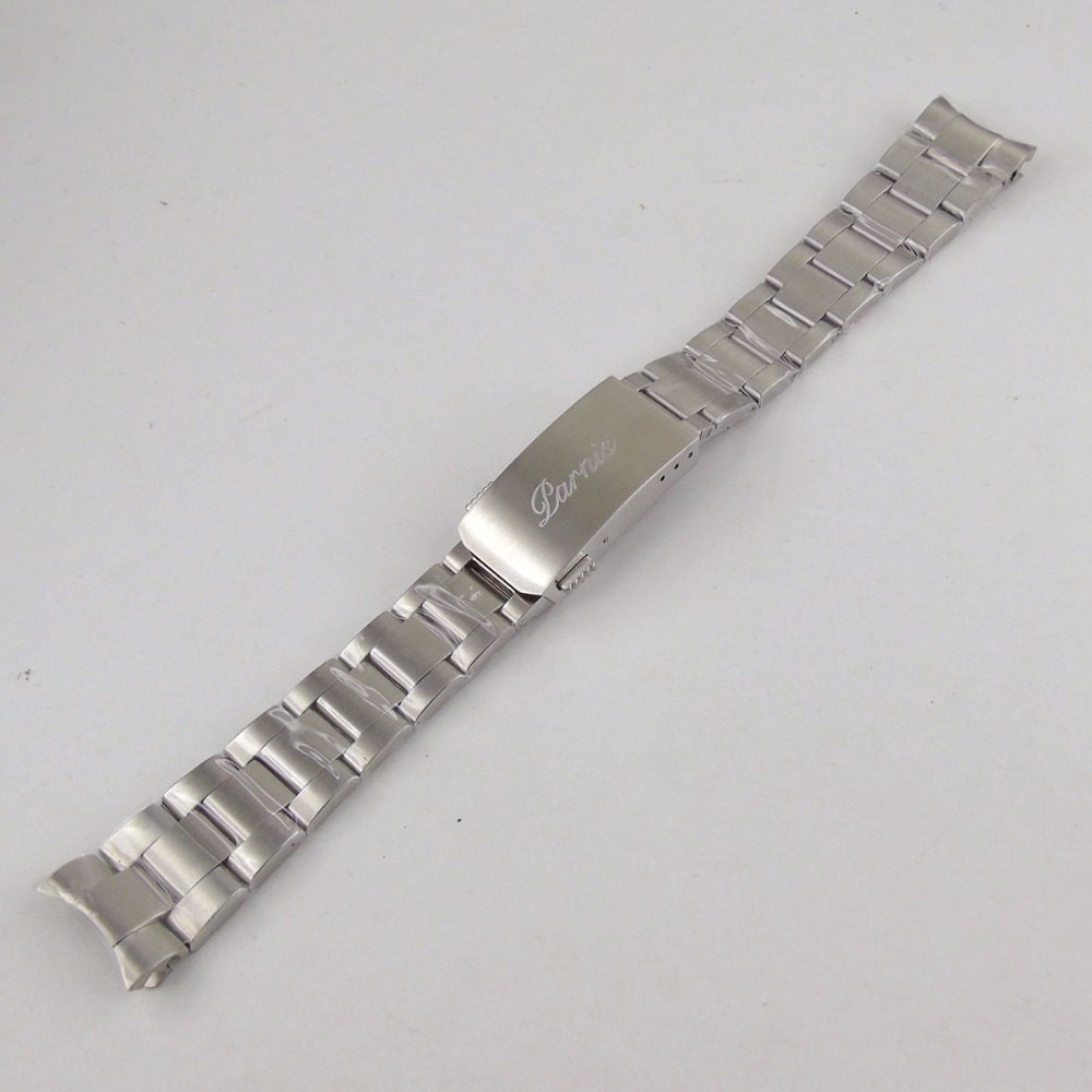 20mm 316L stainless steel solid parnis bracelet20mm 316L stainless steel solid parnis bracelet