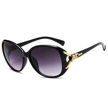 cb17b6bb062f71 2018 Nouvelle Mode Renard Tête Dame Lunettes De Soleil Grande Boîte lunettes  de Soleil Classique Joker lunettes de Soleil Rétro .