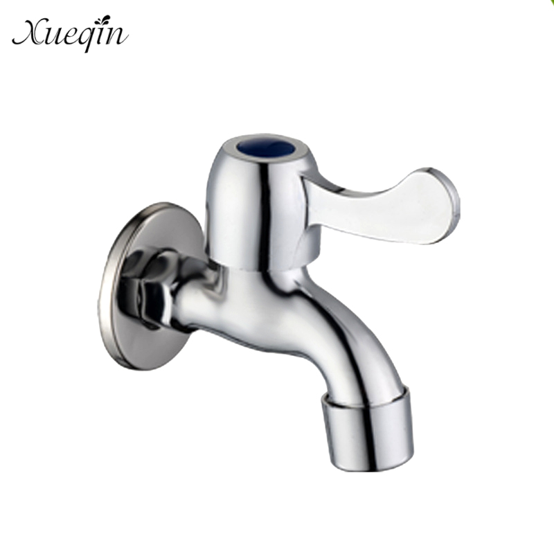 Washing Machine Single Handle Cold Water Faucet Stainless Steel Wall ...