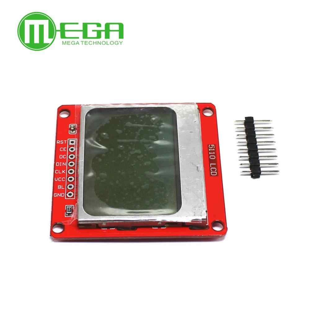 White Backlight 84*48 84x84 5110 LCD Display Module
