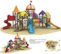 children outdoor playground Anti-rust galvanized steel plastic set park slide CIT10-105A