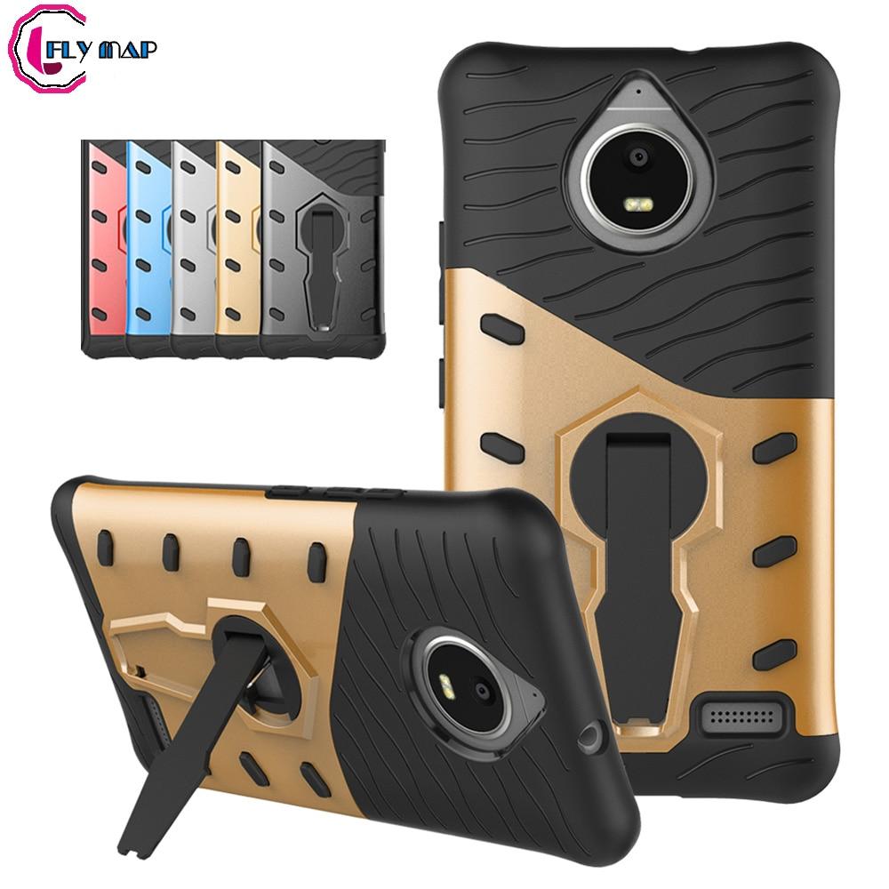 Rotating Case For Motorola Moto E4 E Gen 4 XT1767 XT1768 Case Hard Heavy Duty Plastic+Silicone TPU For Moto E 4 4th Gen Coque