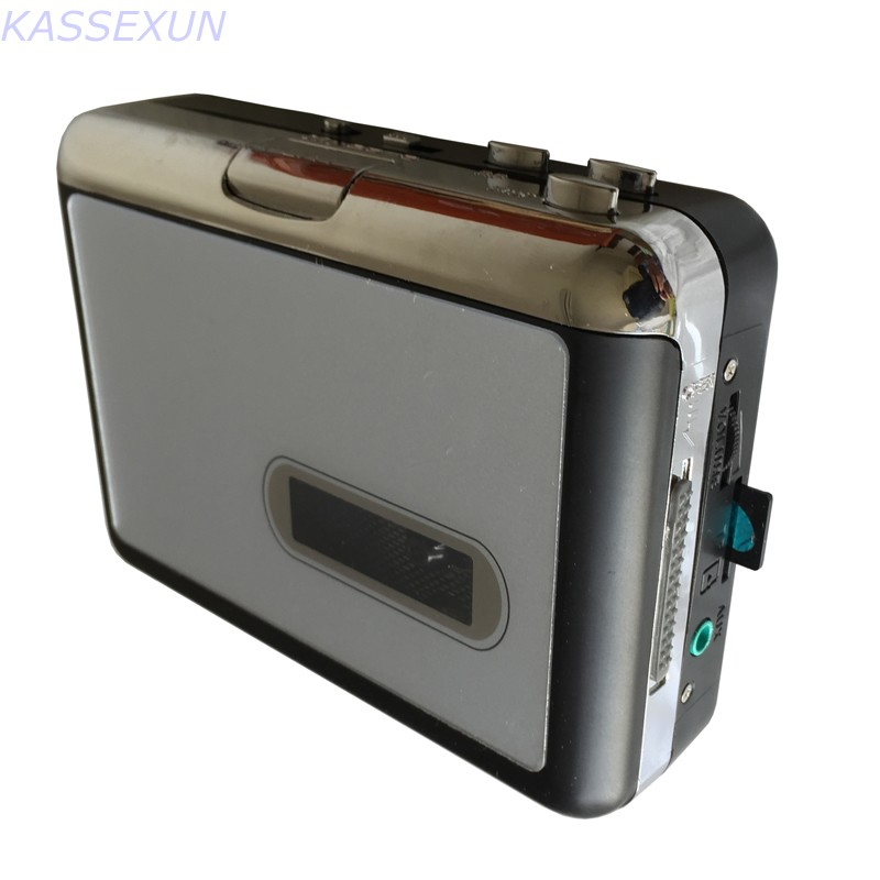 Tape Recorder,digitizing Video Cassettes, Convert Analog Cassette Tape To Mp3 In SD Card Directly No PC Required, Free Shipping