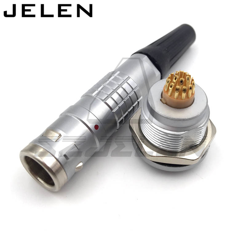 SZJE SZJELEN connector 18 pins plug socket :FGG.2K.318.CLAD**Z ,EGG.2K.318.CLL ,18pin Connector IP68 Medical male and female sxjelen 2k connector 16 pin fgg 2k 316 clad z egg 2k 316 cll 2k 16pin connector ip68 waterproof male and female connector