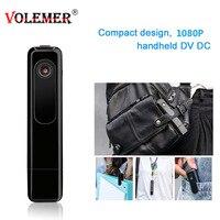 Volemer Mini Camera Wearable Full HD 1080P Pen Camera Video Audio Recorder H.264 Mini DV Camcorder With Single Voice Recording