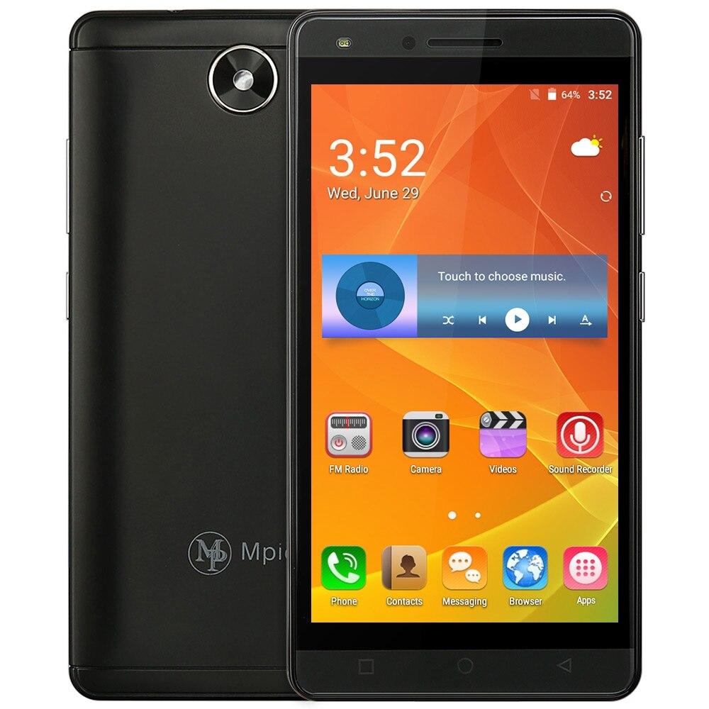 Цена за Mpie MG6 Android 5.1 3 Г Смартфон 5.0 Дюймов MTK6580 1.3 ГГц Quad Core Мобильного Телефона 512 МБ + 4 ГБ Датчика Гравитации GPS Мобильного Телефона