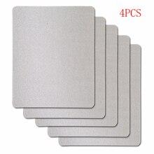 4 шт./лот 15x12 см слюда пластины листы для Panasonic LG Galanz Midea и т. Д. Запасные части для микроволновой печи