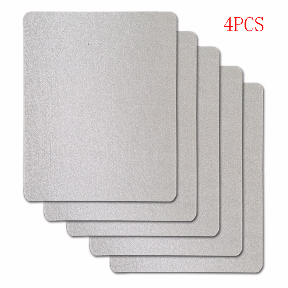 4pcs/lot 15x12cm Mica Plates Sheets For Panasonic LG Galanz Midea Etc.. Microwave Microwave Oven Repairing Part